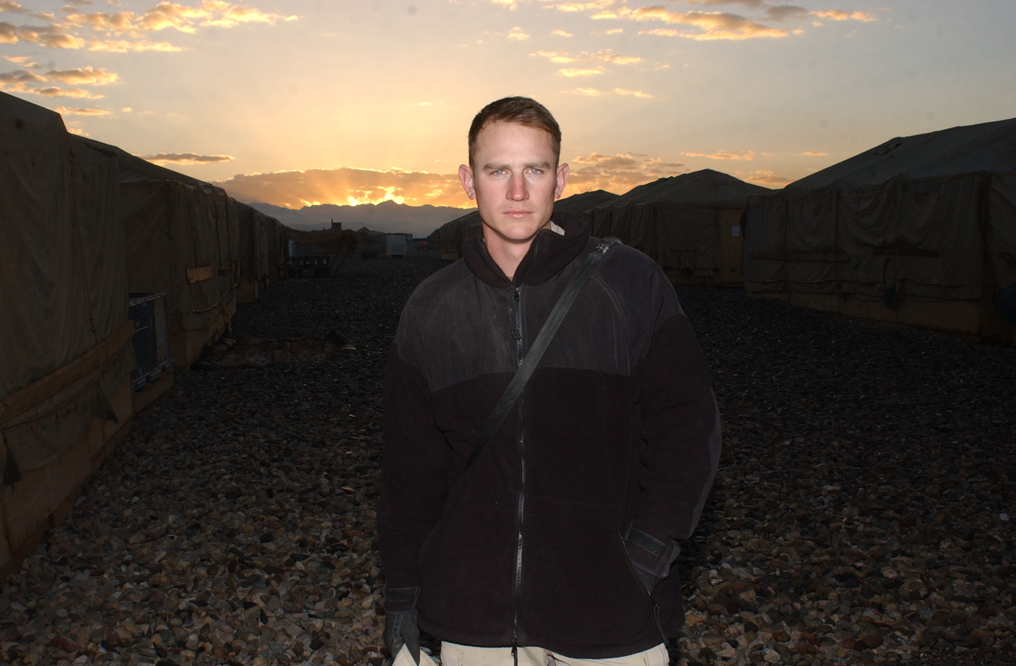 Jeremy Andrew Clawson, in a photo taken while he served in Afghanistan.