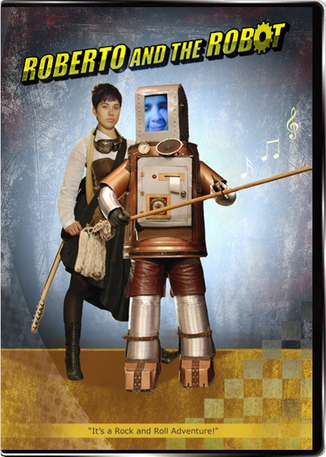 Roberto and the Robot DVD cover