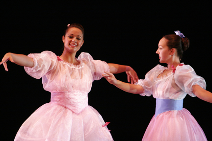 Students perform in the 2009 Spring Dance Concert